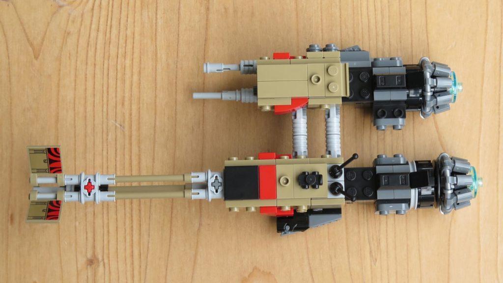 LEGO® Star Wars™ 75215 - Weazel's Swoop Bike - Draufsicht | ©2018 Brickzeit