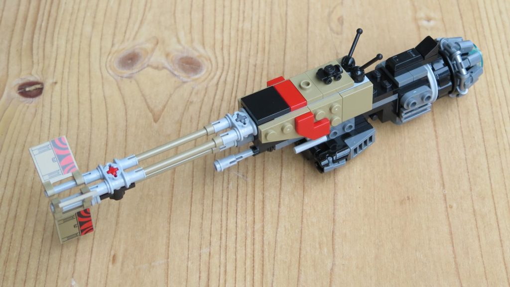 LEGO® Star Wars™ 75215 - Weazel's Swoop Bike - Teil 1 - vorne, links | ©2018 Brickzeit