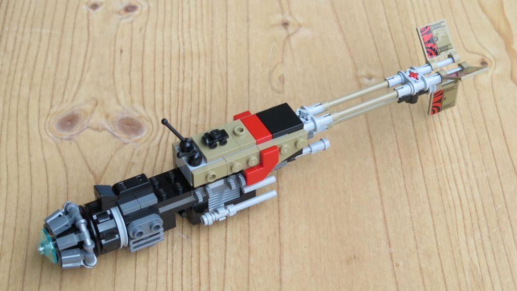 LEGO® Star Wars™ 75215 - Weazel's Swoop Bike - Teil 1 - hinten, rechts | ©2018 Brickzeit