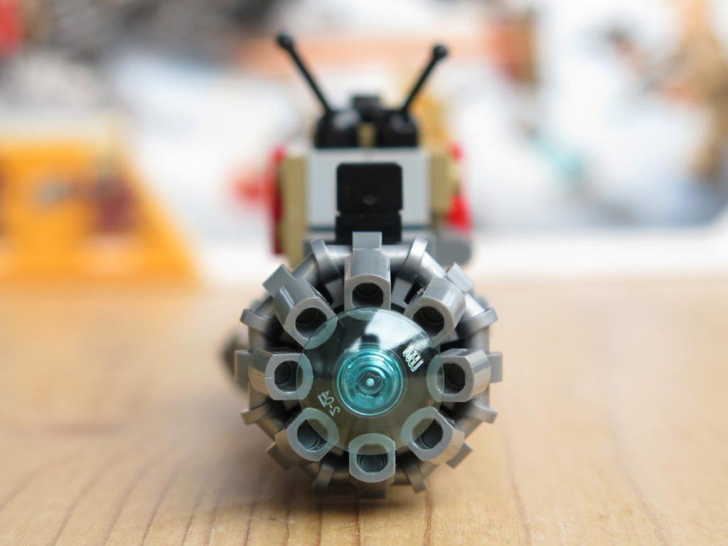 LEGO® Star Wars™ 75215 - Weazel's Swoop Bike - Teil 1 - Rückseite | ©2018 Brickzeit