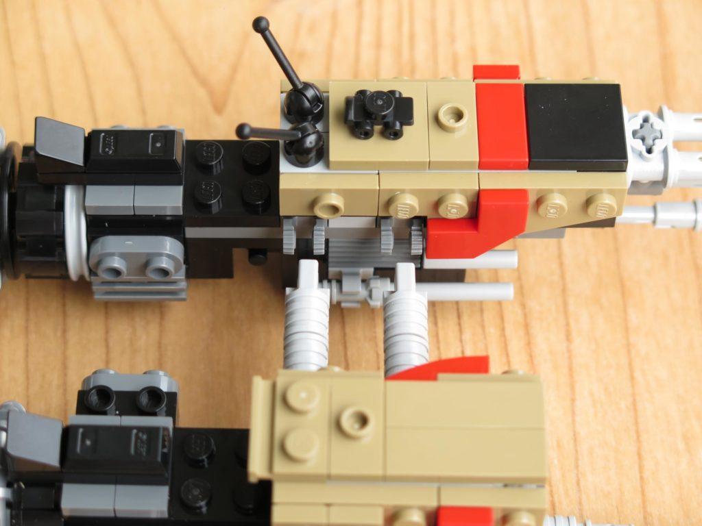 LEGO® Star Wars™ 75215 - Weazel's Swoop Bike - Teil 1 & 2 Verbindung | ©2018 Brickzeit