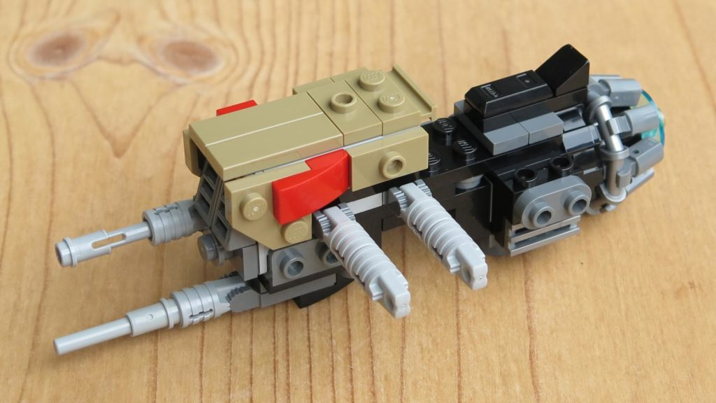 LEGO® Star Wars™ 75215 - Weazel's Swoop Bike - Teil 2 - vorne, links | ©2018 Brickzeit