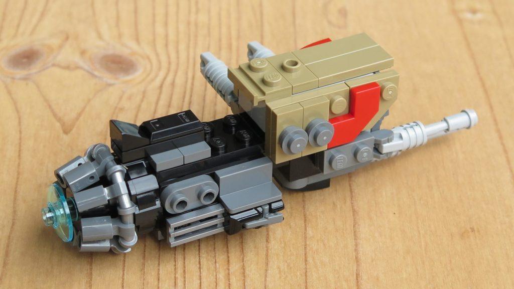 LEGO® Star Wars™ 75215 - Weazel's Swoop Bike - Teil 2 - hinten, rechts | ©2018 Brickzeit