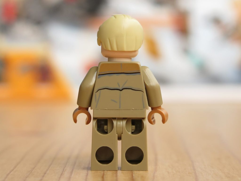 LEGO® Star Wars™ 75215 - Minifigur Tobias Beckett - Rückseite | ©2018 Brickzeit