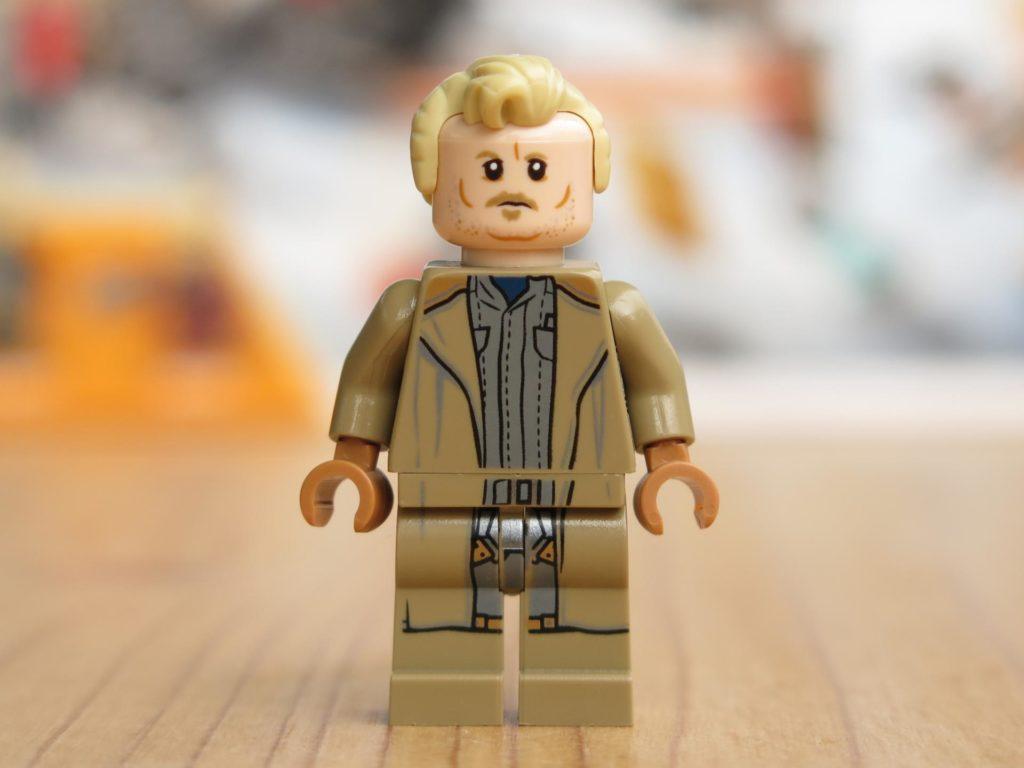 LEGO® Star Wars™ 75215 - Minifigur Tobias Beckett - Vorderseite | ©2018 Brickzeit