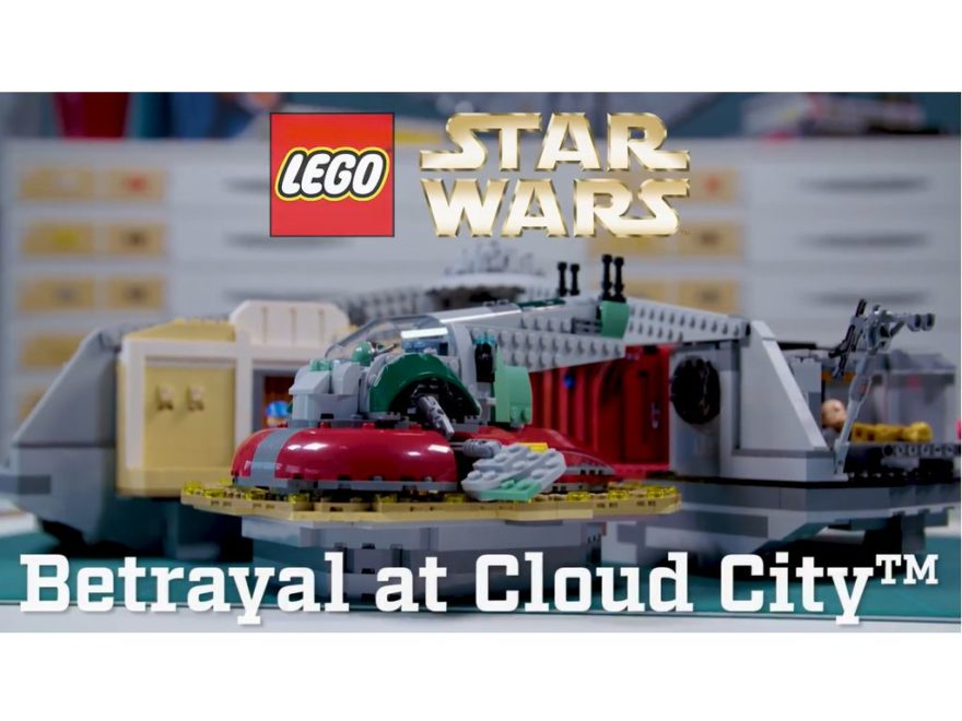 Designer Video LEGO Star Wars 75222 Verrat in Cloud City | ©2018 LEGO Gruppe