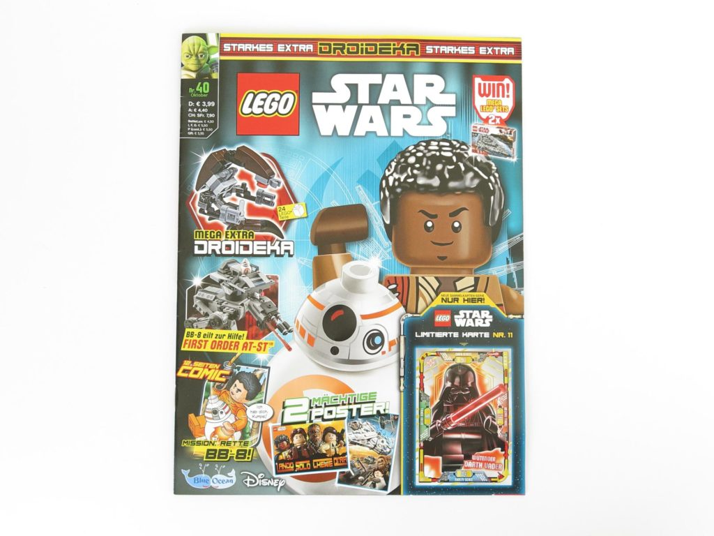 LEGO® Star Wars™ Magazin Nr. 40 - Cover | ©2018 Brickzeit