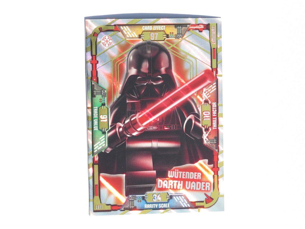 LEGO® Star Wars™ Magazin Nr. 40 - Wütender Darth Vader Sammelkarte | ©2018 Brickzeit