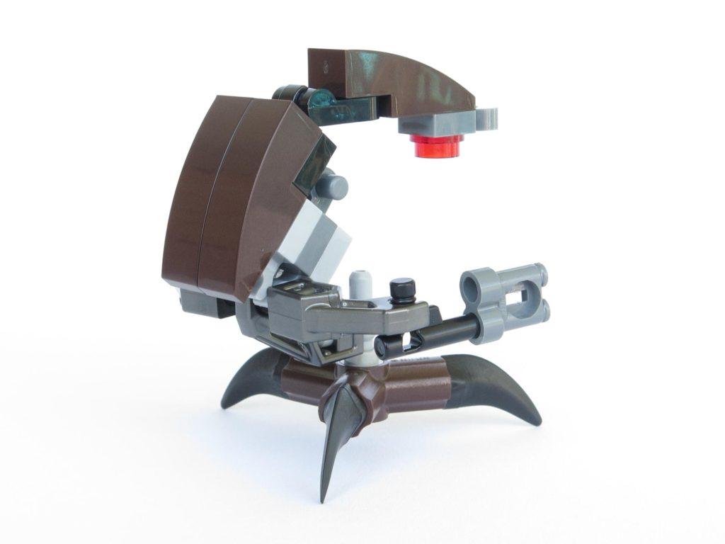 LEGO® Star Wars™ Magazin Nr. 40 - Droideka links, hinten | ©2018 Brickzeit