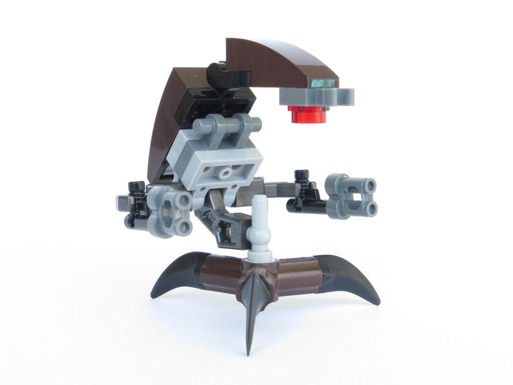 LEGO® Star Wars™ Magazin Nr. 40 - Droideka rechts, vorne | ©2018 Brickzeit