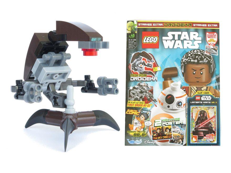 LEGO® Star Wars™ Magazin Nr. 40 - Titelbild | ©2018 Brickzeit