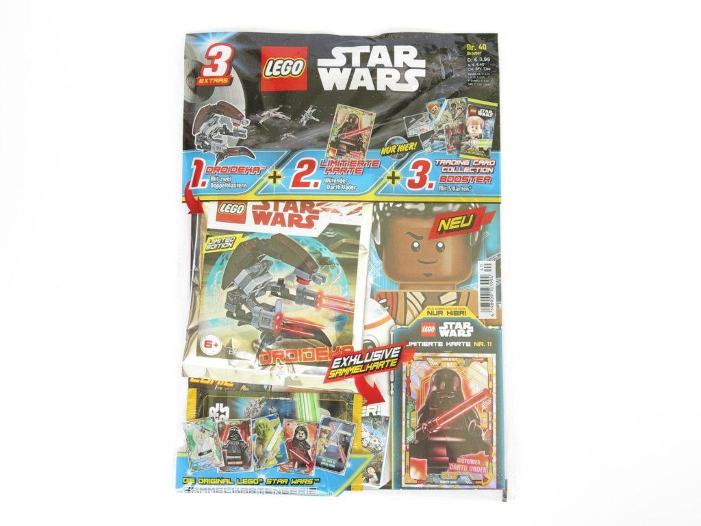 LEGO® Star Wars™ Magazin Nr. 40 Verpackung | ©2018 Brickzeit