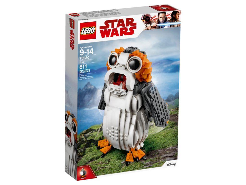 LEGO® Star Wars™ Porg 75230 - Packung Vorderseite | ©LEGO Gruppe