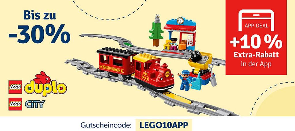 myToys Rabatt Aktion LEGO City und DUPLO | ©myToys