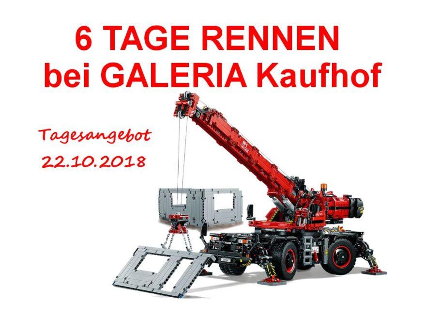 6 Tage Rennen bei GALERIA Kaufhof - Titelbild 22.10.2018