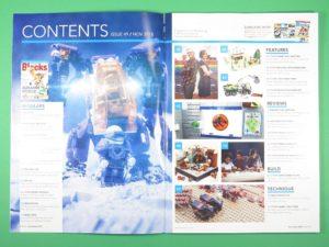 LEGO Blocks Magazin Ausgabe 49 - Inhalt