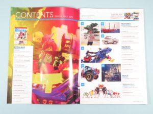 LEGO Blocks Magazin Ausgabe 48 - Inhalt