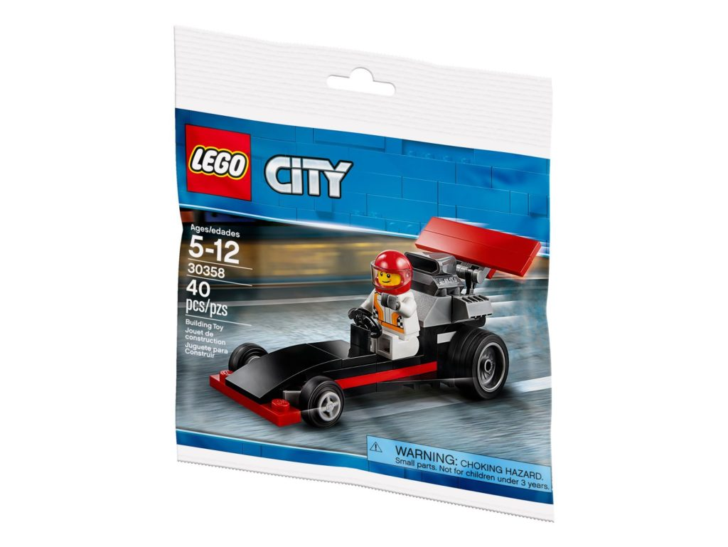LEGO® City 30358 Dragster - Polybag | ®2018 Brickzeit