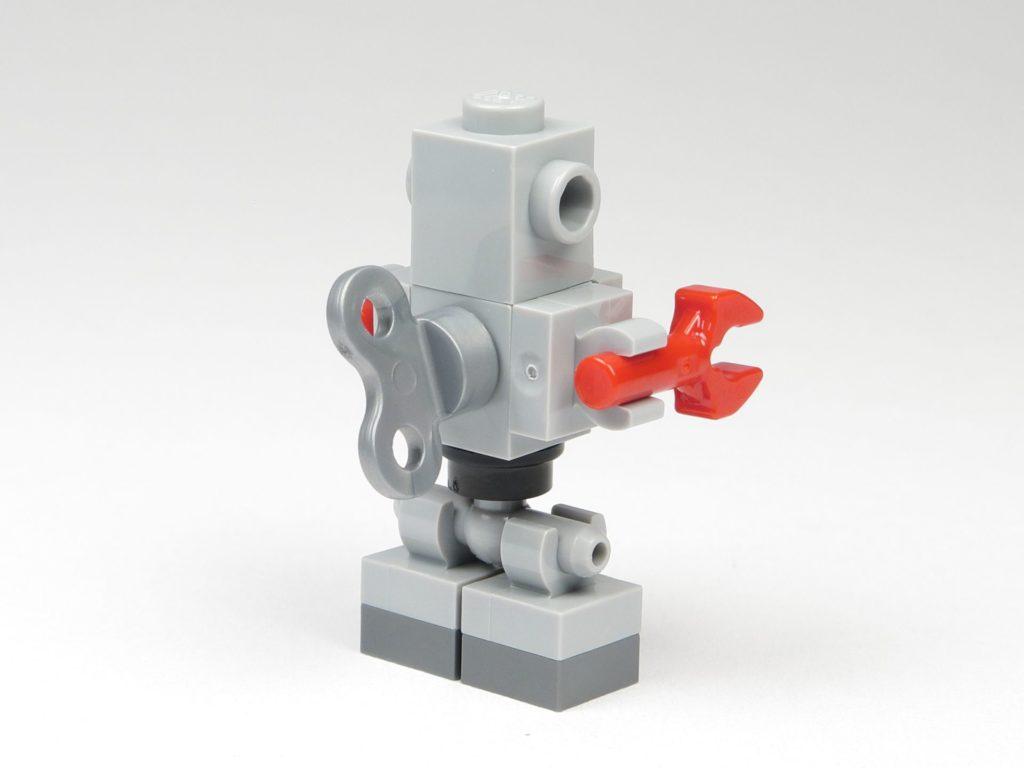 LEGO® City 60201 Adventskalender 2018 - Aufziehbarer Roboter, Rückseite | ©2018 Brickzeit
