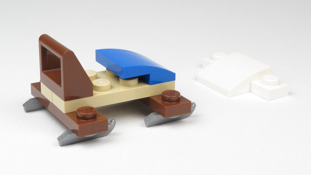 LEGO® City 60201 Adventskalender 2018 - Bob, Rückseite | ©2018 Brickzeit