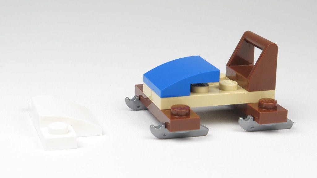 LEGO® City 60201 Adventskalender 2018 - Bob, Vorderseite | ©2018 Brickzeit
