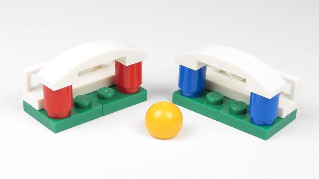 LEGO® City 60201 Adventskalender 2018 - Fußballspiel, Tore und Ball 2 | ©2018 Brickzeit