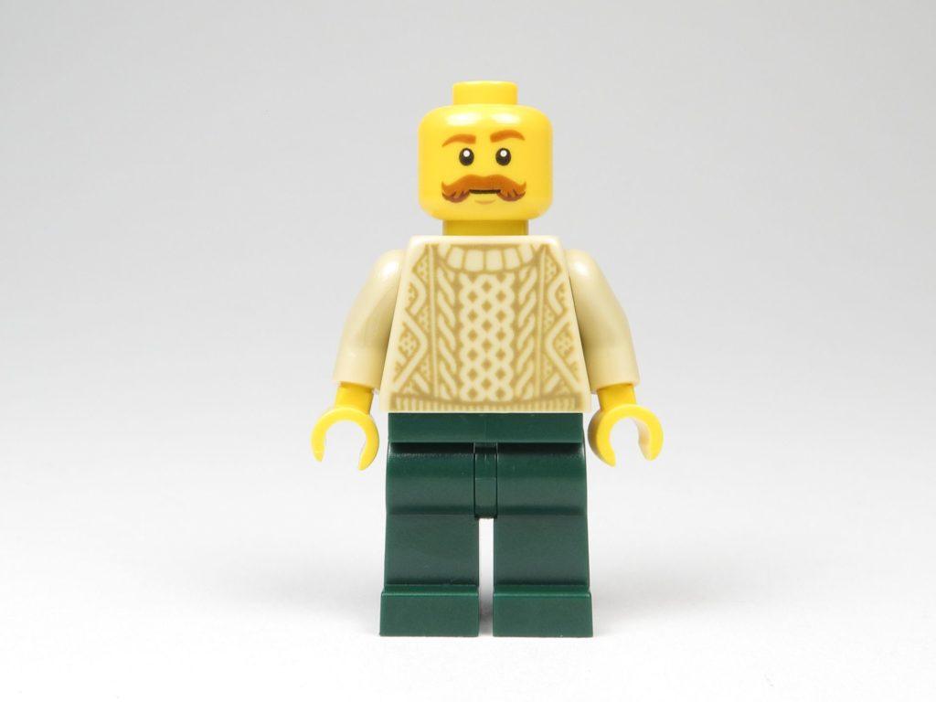 LEGO® City 60201 Adventskalender 2018 - Bäcker ohne Mütze, Vorderseite | ©2018 Brickzeit
