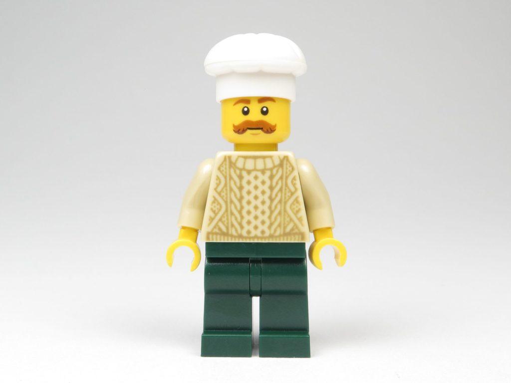 LEGO® City 60201 Adventskalender 2018 - Bäcker, Vorderseite | ©2018 Brickzeit