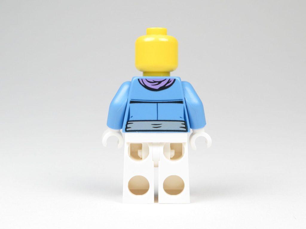 LEGO® City 60201 Adventskalender 2018 - Frau ohne Haare, Rückseite | ©2018 Brickzeit
