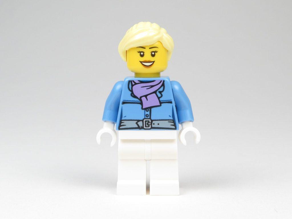 LEGO® City 60201 Adventskalender 2018 - Frau, Vorderseite | ©2018 Brickzeit