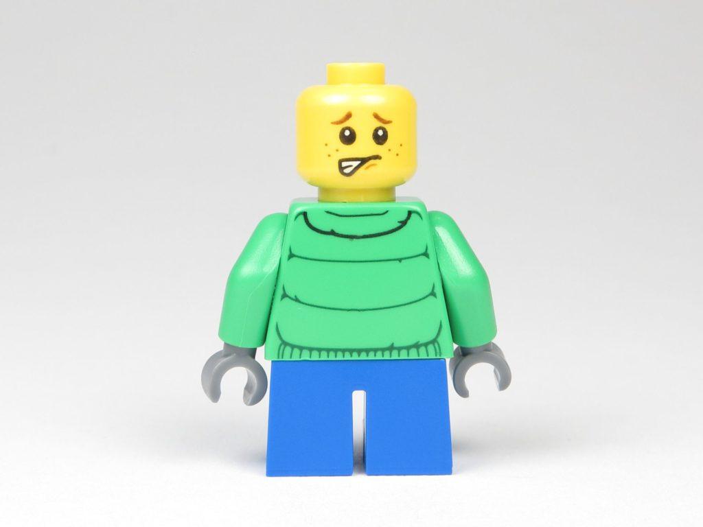 LEGO® City 60201 Adventskalender 2018 - Junge ohne Mütze, alternatives Gesicht | ©2018 Brickzeit