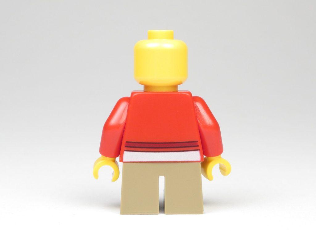 LEGO® City 60201 Adventskalender 2018 - Mädchen ohne Haare, Rückseite | ©2018 Brickzeit