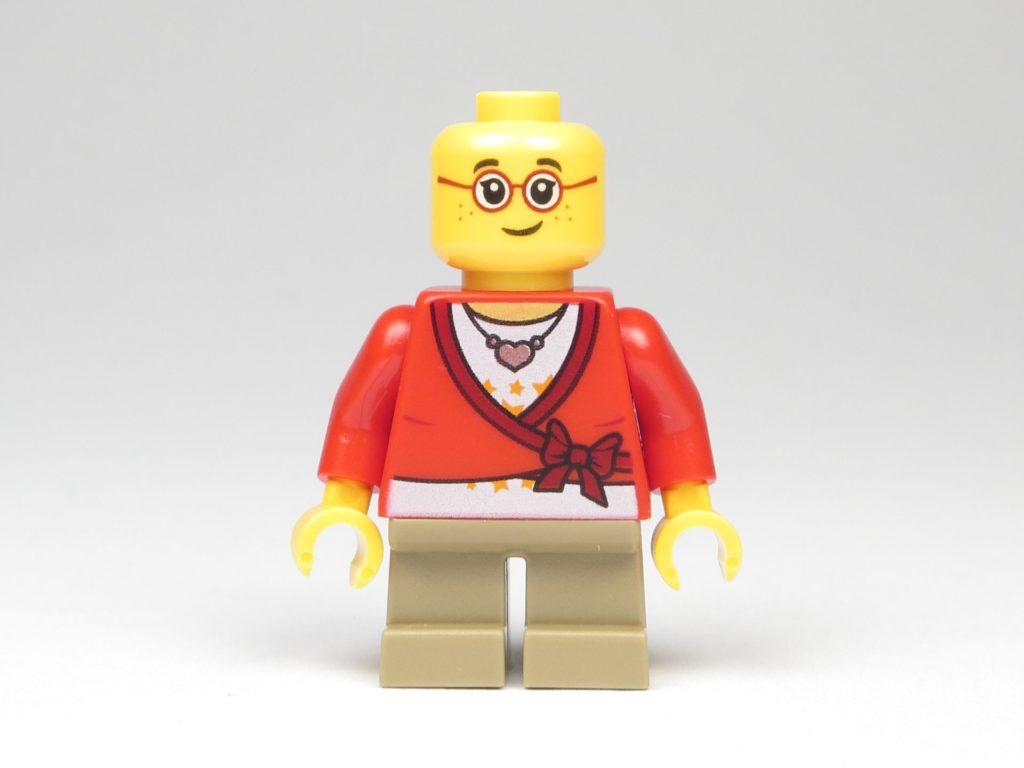 LEGO® City 60201 Adventskalender 2018 - Mädchen ohne Haare, Vorderseite | ©2018 Brickzeit