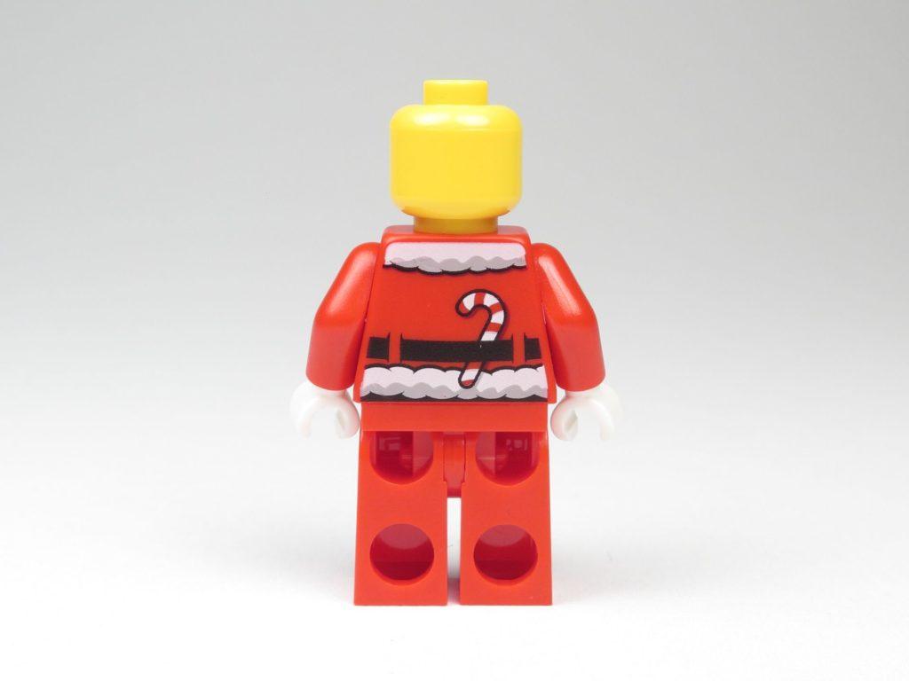 LEGO® City 60201 Adventskalender 2018 - Weihnachtsmann ohne Zubehör, Rückseite | ©2018 Brickzeit