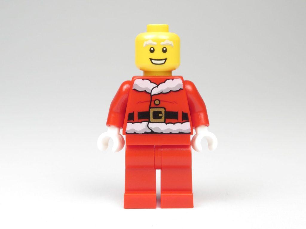 LEGO® City 60201 Adventskalender 2018 - Weihnachtsmann ohne Zubehör, Vorderseite | ©2018 Brickzeit