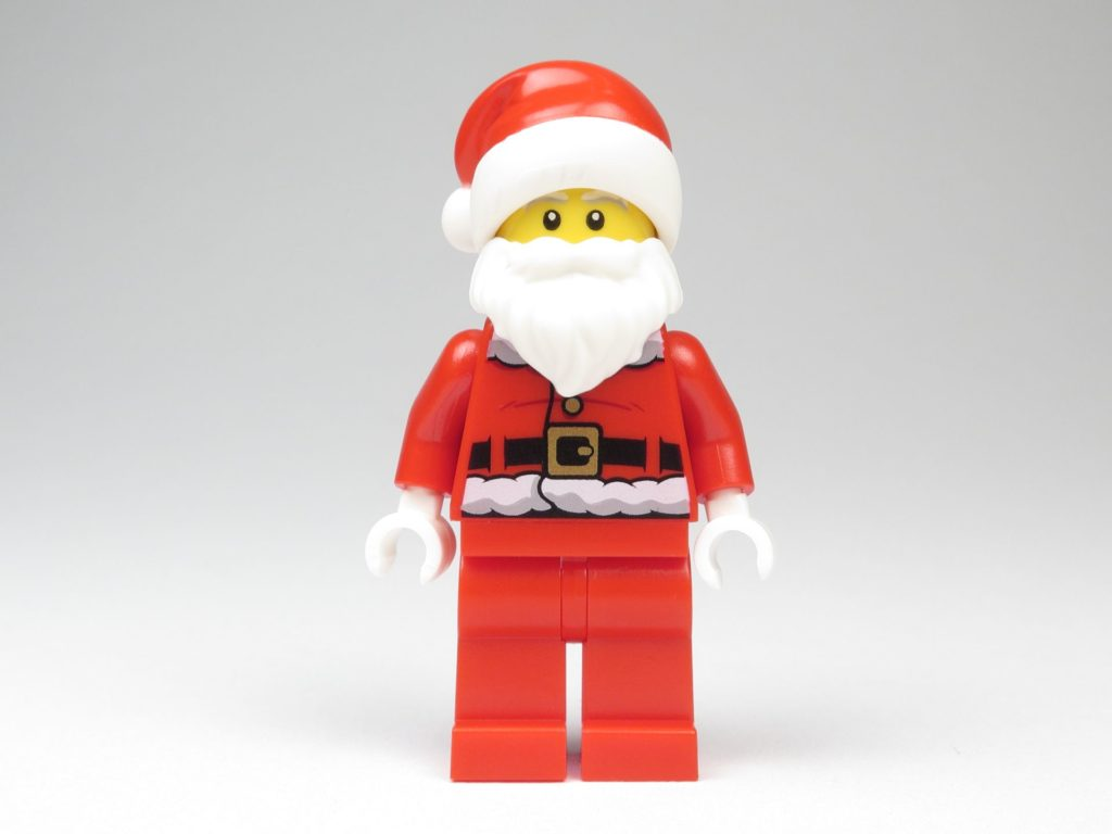 LEGO® City 60201 Adventskalender 2018 - Weihnachtsmann, Vorderseite | ©2018 Brickzeit