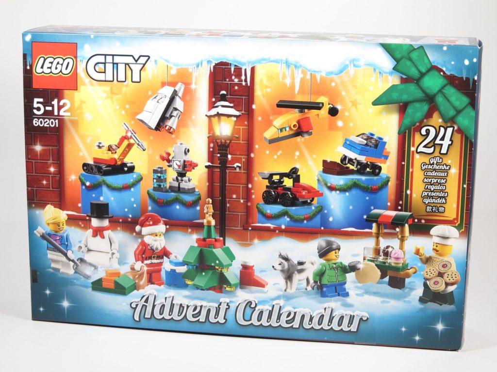LEGO® City 60201 Adventskalender 2018 - Packung, Vorderseite | ©2018 Brickzeit