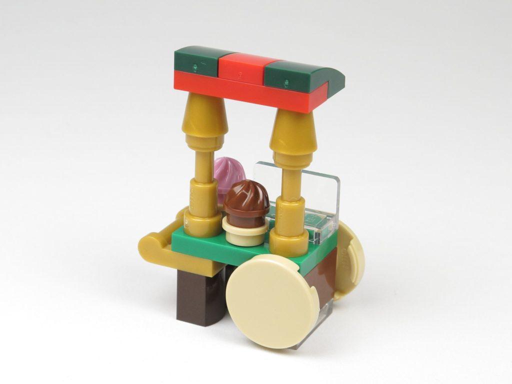 LEGO® City 60201 Adventskalender 2018 - Süßigkeitenstand, Rückseite | ©2018 Brickzeit