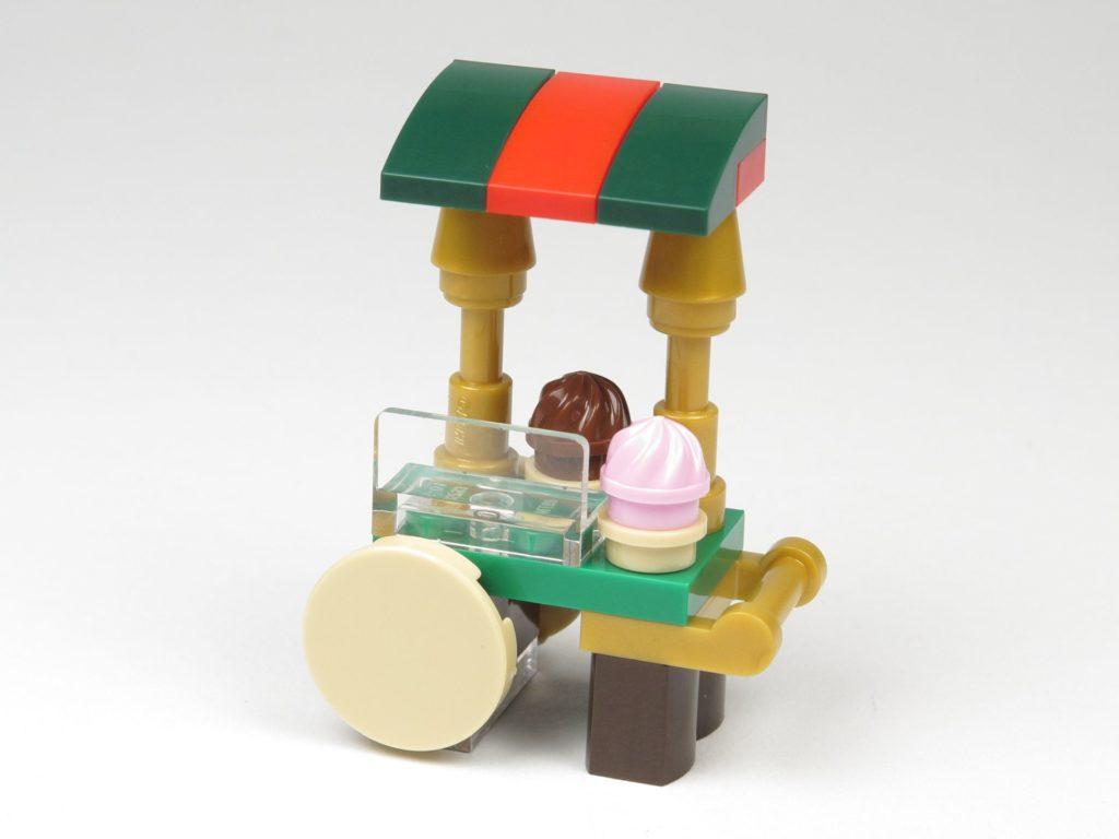 LEGO® City 60201 Adventskalender 2018 - Süßigkeitenstand, Vorderseite | ©2018 Brickzeit