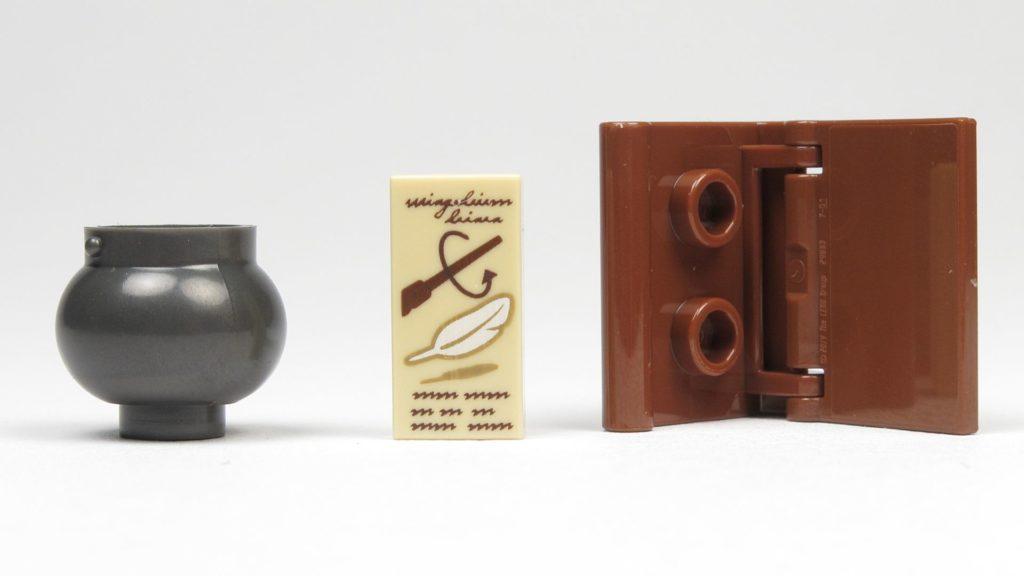 LEGO® 30407 - Kessel, Buch, Fließe mit Wingardium Leviosa Spruch | ©2018 Brickzeit