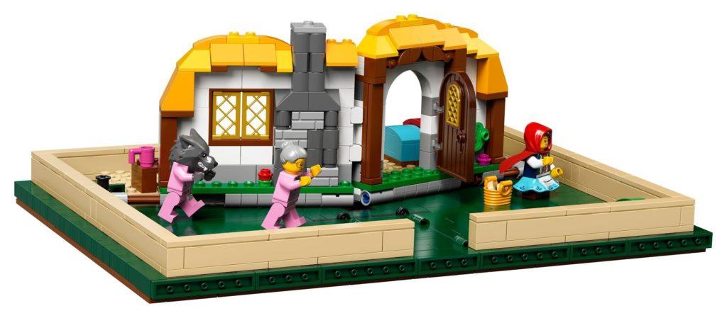 LEGO® Ideas 21315 Pop-Up-Buch - Geschichte von Rotkäppchen | ©LEGO Gruppe