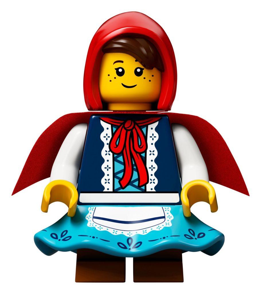 LEGO® Ideas 21315 Pop-Up-Buch - Minifigur Rotkäppchen | ©LEGO Gruppe