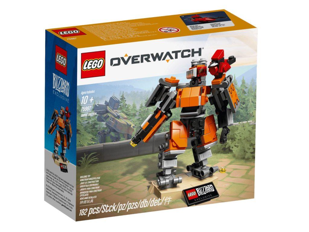 LEGO® Overwatch® 75987 Omnic Bastion - Packung | ©LEGO Gruppe