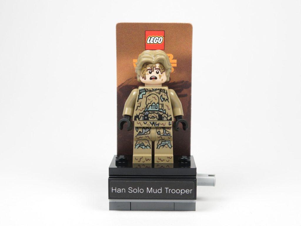 LEGO Star Wars 40300 Han Solo auf Podest Vorderseite | ©2018 Brickzeit
