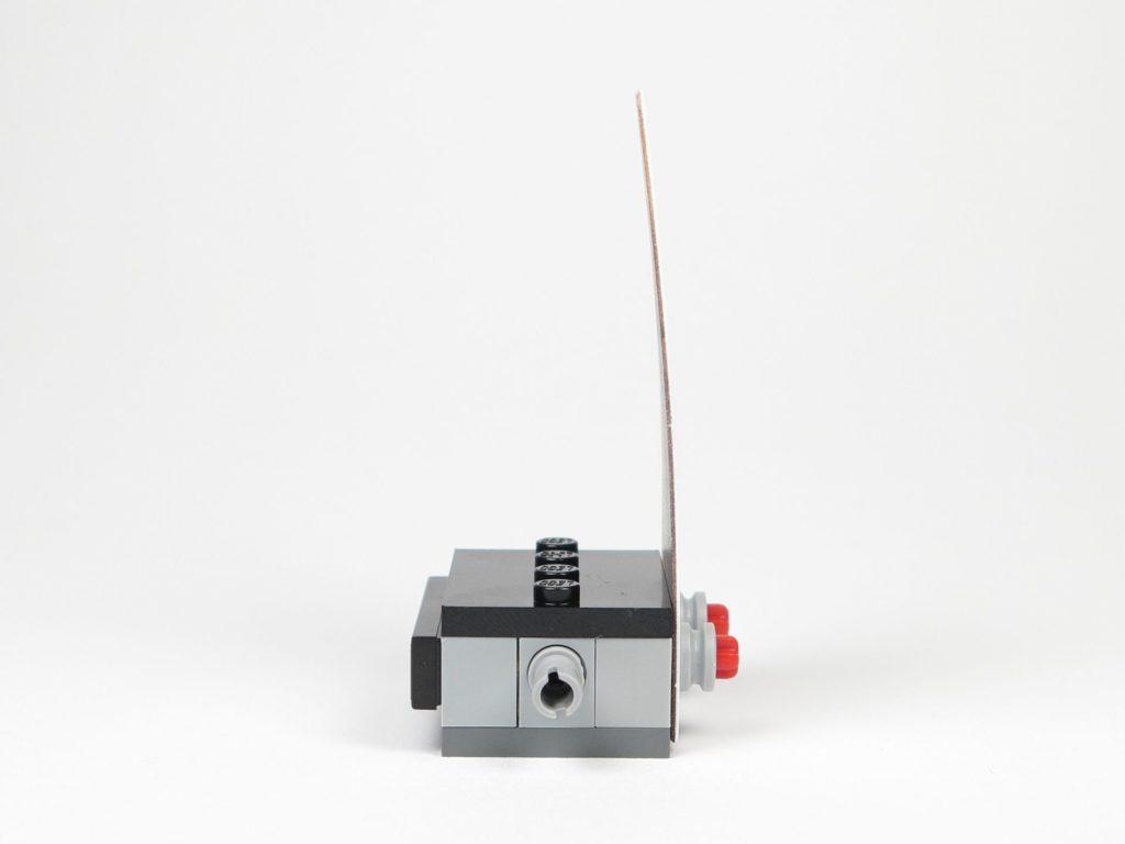 LEGO Star Wars 40300 Podest - rechte Seite | ©2018 Brickzeit