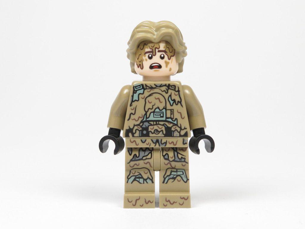 LEGO Star Wars 40300 Han Solo Mud Trooper - Vorderseite, überraschtes Gesicht | ©2018 Brickzeit