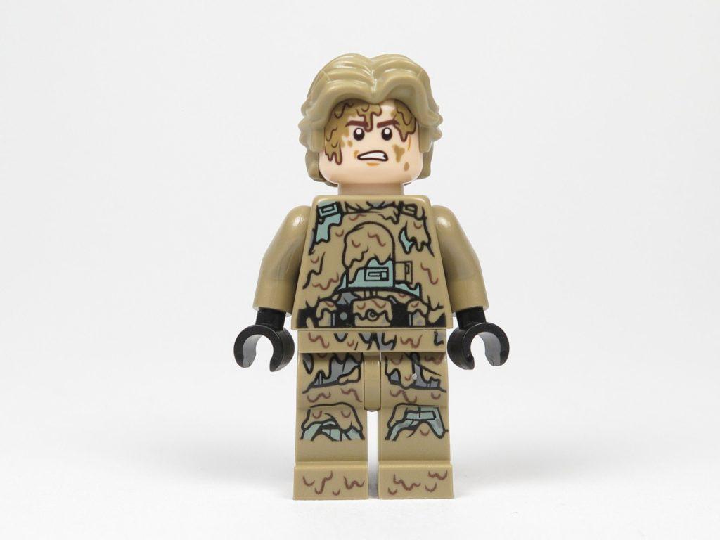 LEGO Star Wars 40300 Han Solo Mud Trooper - Vorderseite, verärgertes Gesicht | ©2018 Brickzeit