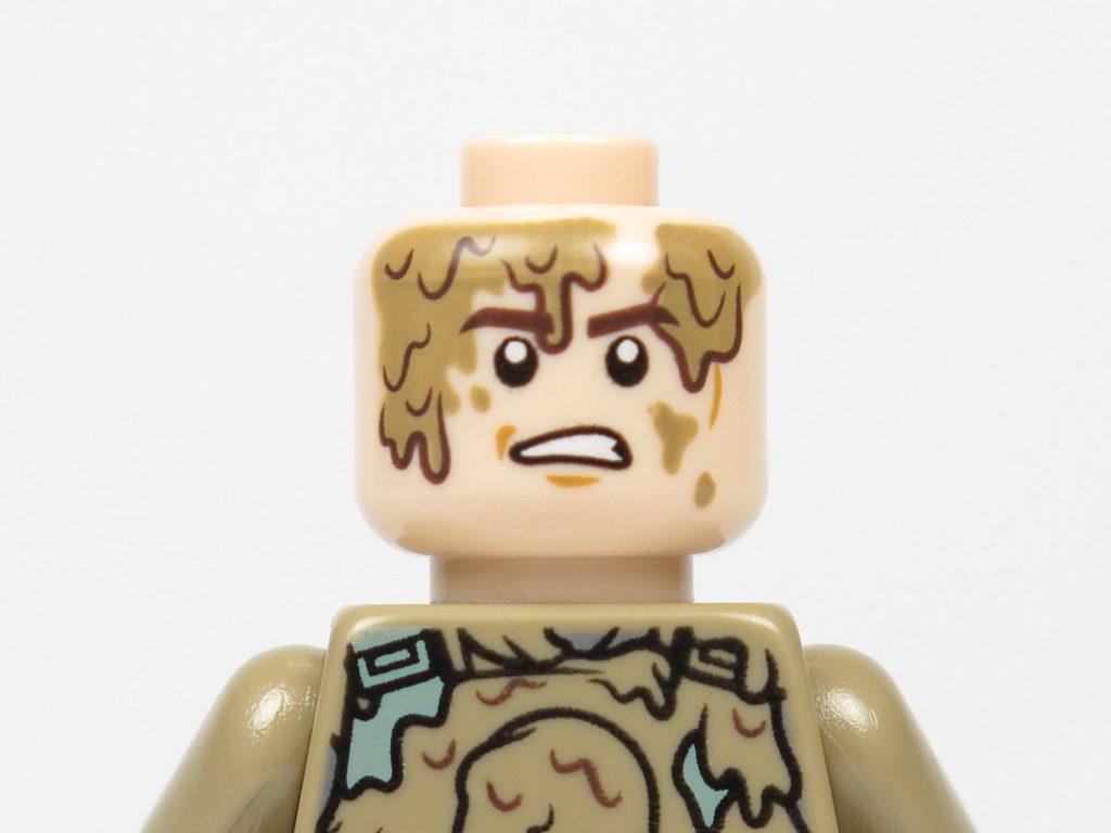 LEGO Star Wars 40300 Han Solo Mud Trooper - verärgertes Gesicht | ©2018 Brickzeit