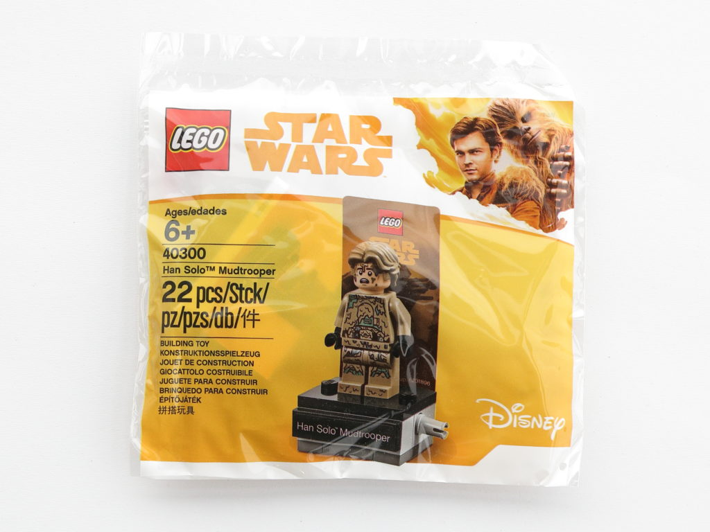 LEGO Star Wars 40300 Han Solo Mud Trooper - Polybag | ©2018 Brickzeit