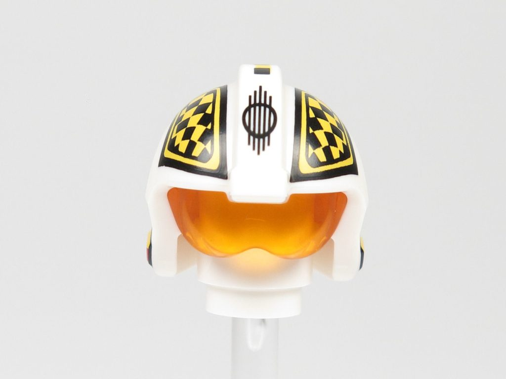 LEGO® Star Wars™ 75218 - Minifigur Biggs Darklighter - Helm, Vorderseite | ©2018 Brickzeit